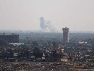 Израиль обстрелян ракетами со стороны Синая