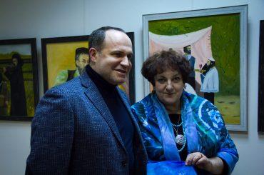 К восьмилетию музея Шолом-Алейхема открылась выставка Альберта Фельдмана