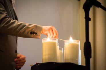 У Києві запалили свічки в пам'ять про жертв нацизму
