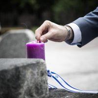 Сотрудники Института им. Голды Меир почтили память жертв Второй Мировой войны