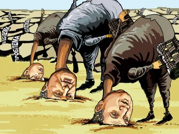 Кризисный менеджмент украинской власти: отрубить сук, на котором сидишь