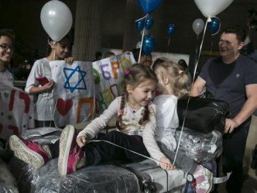 В день 70-летия исторической резолюции ООН 200 репатриантов из Украины прибыли в Израиль
