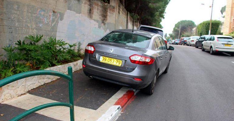 В Израиле за нарушение парковки введут уголовное наказание