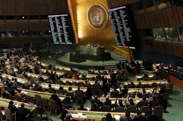 Як козаки в ООН голосували