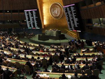 Как казаки в ООН голосовали