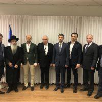 Умань и Назарет-Иллит подписали Договор об установлении побратимских отношений
