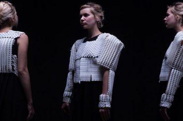 Израильский дизайнер создает 3D-одежду и украшения, защищающие  женщин от опасности