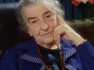 С Днём рождения, великая Голда Меир!